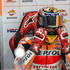 Marc Marquez Photos - Marc Marquez of Spain and Repsol Honda Team prepares to start from the box during the MotoGP of Japan - Free Practice at Twin Ring Motegi on October 19, 2018 in Motegi, Japan. - MotoGP Of Japan - Free Practice