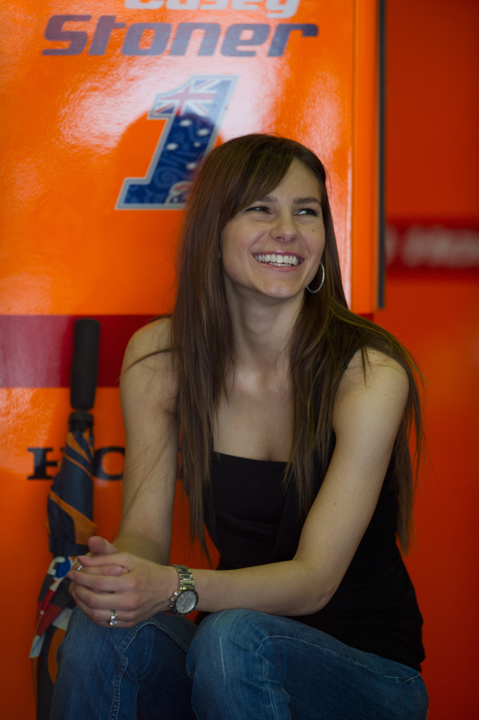 Adriana Stoner Photos Photos - MotoGp Of Catalunya - Zimbio