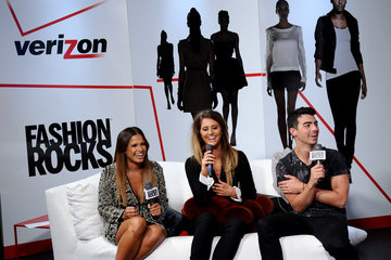 Moxie Raia Garnier, Maybelline New York, And Verizon Backstage At Fashion Rocks 2014