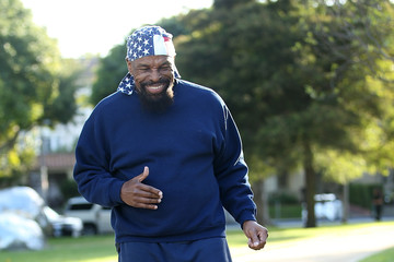 Mr. T Mr. T Seen Rehearsing In Beverly Hills