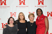 (L-R) Melissa Silverstein, Gloria Steinem, Marie C. Wilson and Teresa C. Younger attend Ms. Foundation For Women 2016 Gloria Awards Gala at The Pierre Hotel on April 27, 2016 in New York City.