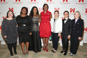(L-R) Melissa Silverstein, Clarissa Doutherd, Mary Ignatius, Teresa C. Younger, Marcy Syms, Miriam Yeung and Marie C. Wilson attend Ms. Foundation For Women 2016 Gloria Awards Gala at The Pierre Hotel on April 27, 2016 in New York City.