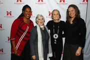 Ms. Foundation For Women President and CEO Teresa C. Younger, Louise Bessire, Ms. Foundation For Women Founding Mother Gloria Steinem and Caitlin Carroll attend Ms. Foundation For Women's 24th Comedy Night at Carolines on Broadway on January 13, 2020 in New York City.