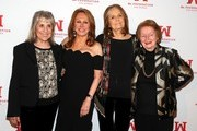 Ms. Foundation Founding Mothers Letty Cottin Pogrebin, Marlo Thomas, Gloria Steinem and Pat Carbine attend the Ms. Foundation For Women's Annual Gloria Awards at Capitale on May 08, 2019 in New York City.
