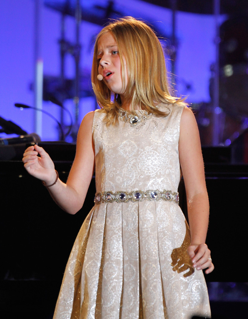 Jackie Evancho - #tbt to rehearsing for 'Celebrity Fight...