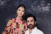 Mulberry Creative Director Johnny Coca and model Irene Kim attend the Mulberry A/W 18 event at K museum on September 6, 2018 in Seoul, South Korea.