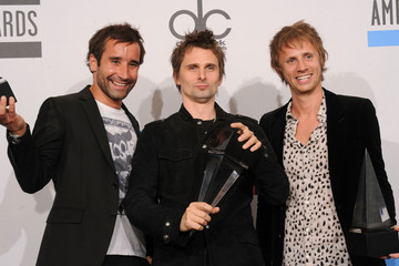 Muse 2010 American Music Awards - Press Room