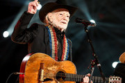 Willie Nelson performs at MusiCares Person of the Year honoring Dolly Parton at Los Angeles Convention Center on February 08, 2019 in Los Angeles, California.