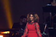 Yolanda Adams performs onstage during MusiCares Person of the Year honoring Dolly Parton at Los Angeles Convention Center on February 8, 2019 in Los Angeles, California.