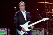 Eric Clapton performs on stage during Music For The Marsden 2020 at The O2 Arena on March 03, 2020 in London, England.