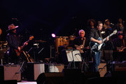 Don Was, Brian Stoltz, Jason Isbell, Ann McCrary, Regina McCrary, and Deborah McCrary perform during The Musical Mojo of Dr. John: A Celebration of Mac & His Music at the Saenger Theatre on May 3, 2014 in New Orleans, Louisiana.