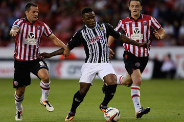 Mustapha Dumbuya Sheffield United v Notts County - Sky Bet League One