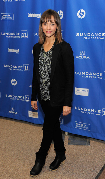 "Actress Rashida Jones attends ""My Idiot Brother"" Premiere at the Eccles Center Theatre during the 2011 Sundance Film Festival on January 22, 2011 in Park City, Utah."