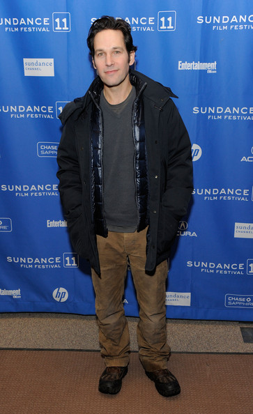 "Actor Paul Rudd attends ""My Idiot Brother"" Premiere at the Eccles Center Theatre during the 2011 Sundance Film Festival on January 22, 2011 in Park City, Utah."
