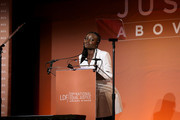 Lupita Nyong'o speaks onstage during the NAACP LDF 33rd National Equal Justice Awards Dinner at Cipriani 42nd Street on November 07, 2019 in New York City.