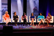(L-R) Emme, Dr. Priscilla Douglas, Amanda Steinberg, Dr. Holly Phillips, Lisa Price and Star Jones speak on stage at NAPW 2014 Conference - Day 2 on April 25, 2014 in New York City.