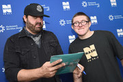 Randy Houser signs autographs for fans during NASH FM 94.7's Up Close And Country at Hackensack Meridian Health Stage 17 on January 15, 2019 in New York City.