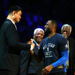 Yao Ming and LeBron James Photos