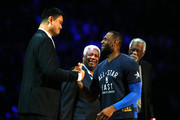 Yao Ming and LeBron James Photos Photo