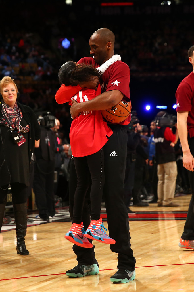 73d5db949 Kobe Bryant and Gianna Bryant Photos»Photostream · Pictures · NBA All-Star  Game 2016