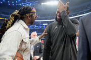 2 Chainz and LeBron James attend the NBA All-Star Game 2018 at Staples Center on February 18, 2018 in Los Angeles, California.