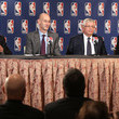 Adam Silver Glen Taylor Photos
