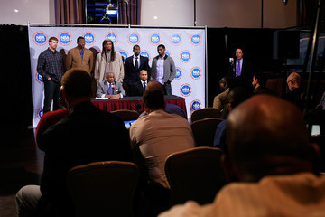 Billy Hunter NBA And Player's Association Meet To Continue Negotiating CBA