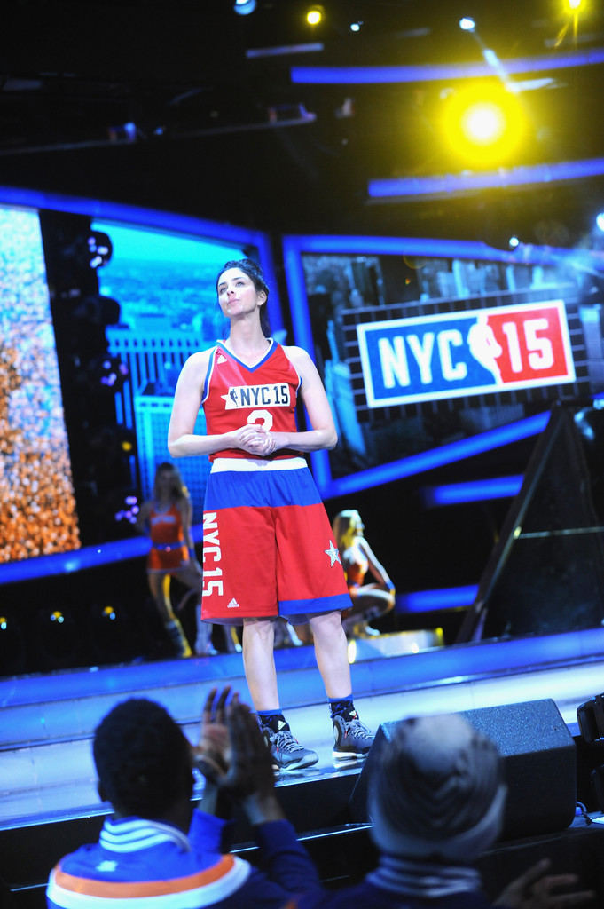 All Star Celebrity Game Nba All Star Weekend 2015 Stock ...