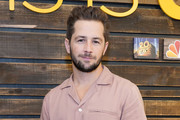 """Michael Angarano attends NBC's """"This Is Us"""" Pancakes with the Pearsons at 1 Hotel West Hollywood on August 10, 2019 in West Hollywood, California."""