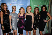 (L_R) The Real Housewifes of New York City Kathy Killoren Bensimon, Sonja Morgan, Ramona Singer, Alex McCord, Jill Zann, LuAnn de Lesseps The Real Housewifes of New York City arrives at the NBC Universal 2011 Winter TCA Press Tour All-Star Party at the Langham Huntington Hotel on January 13, 2011 in Pasadena, California.