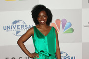 Actress Adepero Oduye arrives at NBC Universal's 69th Annual Golden Globe Awards After Party at The Beverly Hilton hotel on January 15, 2012 in Beverly Hills, California.