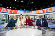 TODAY -- Pictured: Dylan Dreyer, Savannah Guthrie, Hoda Kotb and Al Roker on Wednesday, December 20, 2017 --