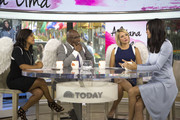 TODAY -- Pictured: (l-r) Sheinelle Jones, Al Roker, Dylan Dreyer, and Adriana Lima on Wednesday Sept. 20, 2017 --