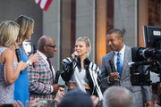 TODAY -- Pictured: Dylan Dreyer, Savannah Guthrie, Al Roker, Fergie and Craig Melvin on Friday, September 22, 2017 --