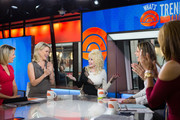 TODAY -- Pictured: Al Roker, Dylan Dreyer, Megyn Kelly, Dolly Parton, Savannah Guthrie and Hoda Kotb on Monday, October 16, 2017 --