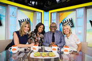 TODAY -- Pictured: Jenna Bush Hager, Sheinelle Jones, Al Roker and Dylan Dreyer on Thursday, September 21, 2017 --
