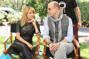 TV Personality Nicole Richie (L) and fashion designer John Varvatos attend the NBCUniversal summer press day held at The Langham Huntington Hotel and Spa on April 18, 2012 in Pasadena, California.