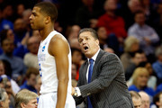 John Calipari Aaron Harrison Photos Photo