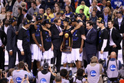 Quinn Cook and Amile Jefferson Photos Photo