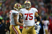 Alex Boone and Colin Kaepernick Photos Photo