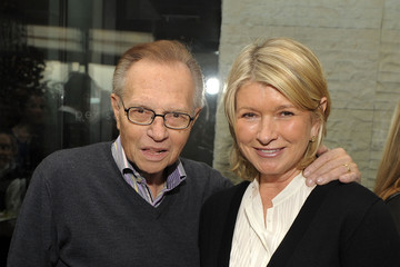 Larry King NINE Luncheon at Per Se