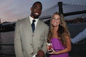 Rebecca Otto NY Giants Justin Tuck VIP Charity Reception