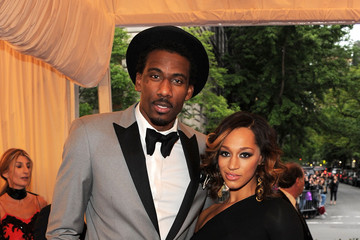 """Amare Stoudemire Alexis Welch NY: """"Schiaparelli And Prada: Impossible Conversations"""" Costume Institute Gala"""