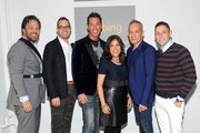 (L-R) Michael Kroll, Scott Erickson, David Bromstad, Ingrid Abramovitch, Cesar Galindo and Jonathan Adler attend NYC Bing redesign panel featuring Jonathan Adler and David Bromstad on September 17, 2013 in New York City.