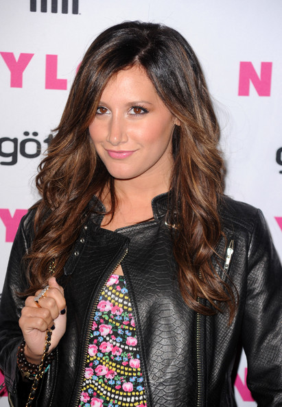Ashley Tisdale Actress Ashely Tisdale arrives at the NYLON & YouTube Young Hollywood Party at the Roosevelt Hotel on May 12, 2010 in Hollywood, California.