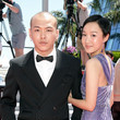 """Na JiaZuo """"Drive My Car"""" Red Carpet - The 74th Annual Cannes Film Festival"""