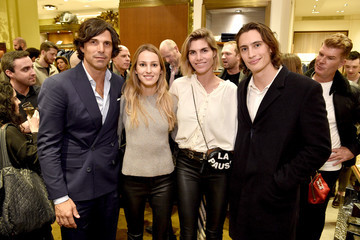 Nacho Figueras Delfina Blaquier The Ignacio Figueras Fragrance Collection Launch Celebration At Bergdorf Goodman In NYC With Creator, Entrepreneur, And World Renowned Polo Player Nacho Figueras