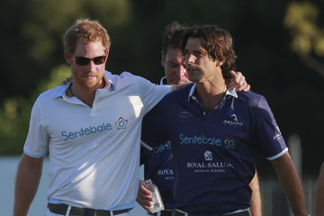 Nacho Figueras Sentebale Royal Salute Polo Cup in Cape Town with Prince Harry - Polo