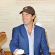 Nacho Figueras Polo Player Nacho Figueras Visits Sprinkles Bakery To Unveil Branded Veuve Clicquot Cupcakes For Polo Classic Los Angeles