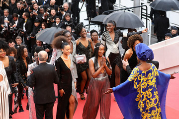Nadege Beausson-Diagne 'Burning (Beoning)' Red Carpet Arrivals - The 71st Annual Cannes Film Festival